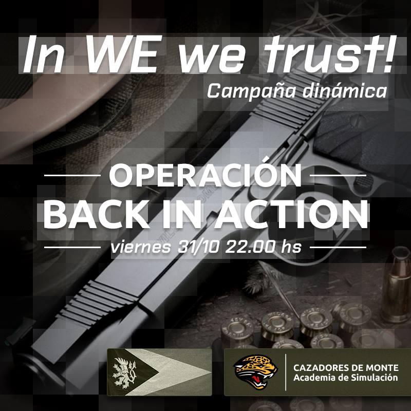 In WE we trust